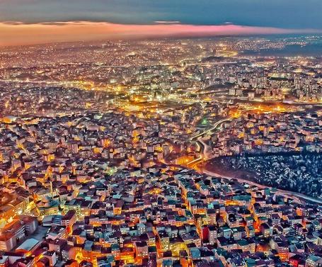 Фото Стамбул с высоты птичьего полёта, Турция / Istanbul, Turkey