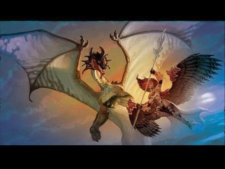Фото Ангел сражается с драконом (© Anatol), добавлено: 23.11.2012 02:21