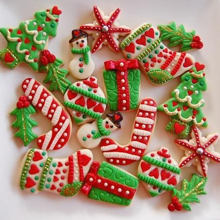 Фото Новогодние печенья
