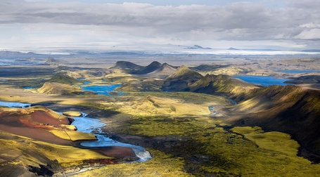 Фото Исландский пейзаж, фотограф Виктория Роготнева / Icelandic landscape, photographer Victoria Rogotneva