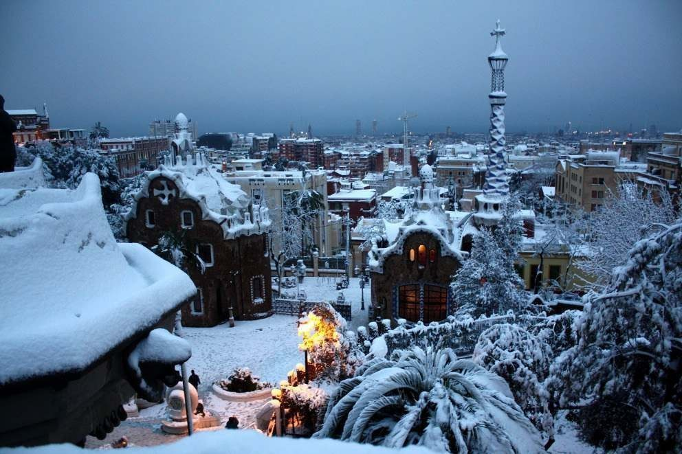 Фото Зимняя Барселона, Испания / Barcelona, Spain
