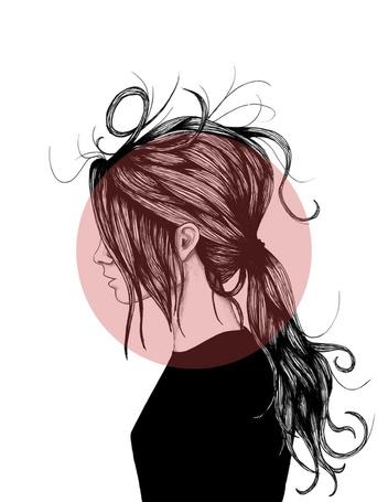 Фото Девушка с растрепанными волосами (© Krista Zarubin), добавлено: 03.12.2012 19:44