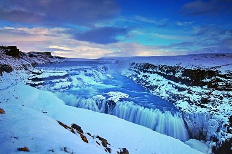 Фото Гюдльфосс — водопад в Исландии / Gyudlfoss, Iceland (© Morena), добавлено: 03.12.2012 20:55