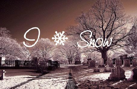 Фото Зимние города (I love Snow / Я люблю снег)