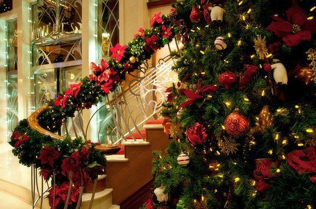 Фото Наряженная новогодняя елка (© Felikc), добавлено: 19.12.2012 02:15