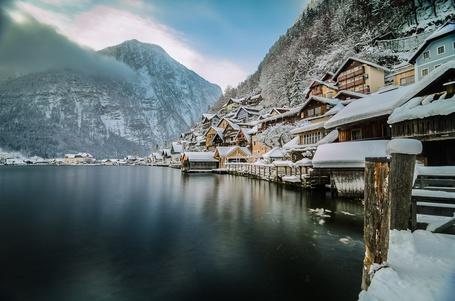 Фото Гальштат — коммуна в Австрии, в федеральной земле Верхняя Австрия / Hallstatt, Austria