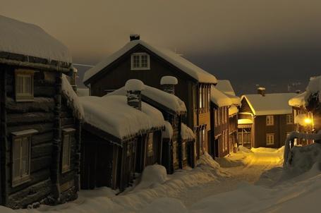 Фото Рёрус, Норвегия / Roros, Norway