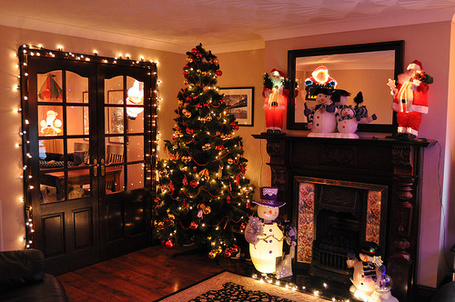 Фото Комната украшена для нового года (© Black Tide), добавлено: 25.12.2012 22:51