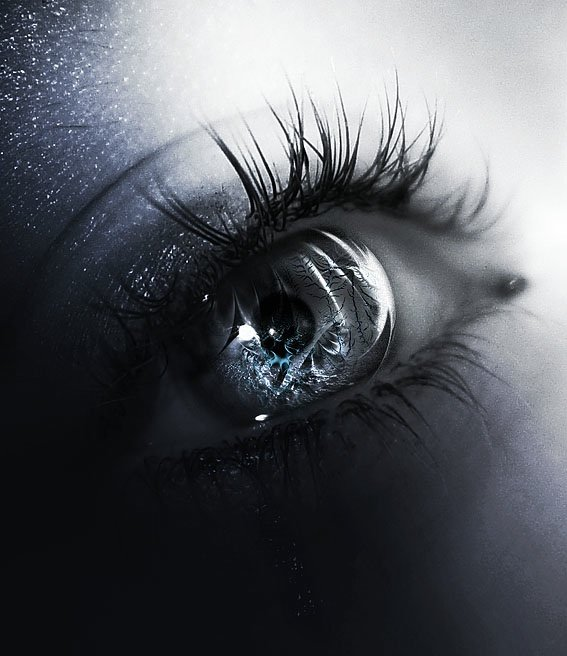 Открытки с грустными глазами, для