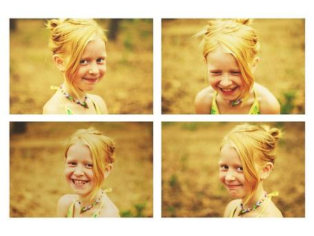 Фото Рыженькая девочка в веснушках