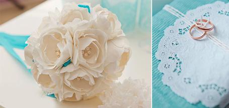 Фото Свадебный букет и кольца (© Princessa), добавлено: 18.01.2013 08:23