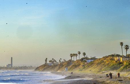 Фото Прилив и отлив на побережье  (© BRODJaGA), добавлено: 19.01.2013 14:52