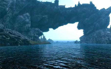 Фото Замок на скале .Море плещется внизу