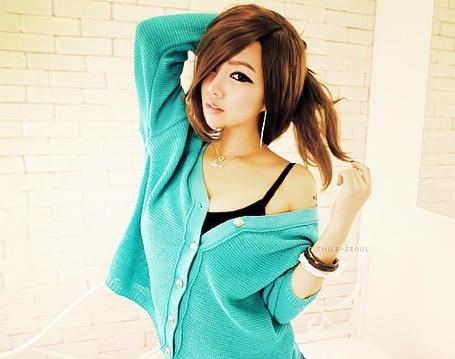 Фото Красивая азиатка в бирюзовой кофте (© Флориссия), добавлено: 26.01.2013 17:50
