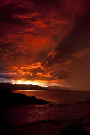 Фото Закат над морем  (© BRODJaGA), добавлено: 29.01.2013 20:02