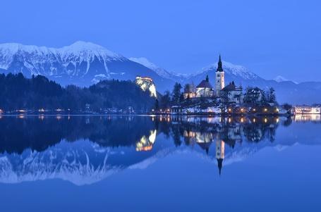 Фото Озеро Блед, Словения / Lake Bled, Slovenia (© ), добавлено: 31.01.2013 02:05
