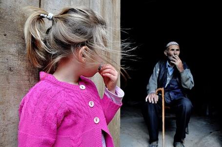 Фото Девочка и старик, фотограф Сemalsepici
