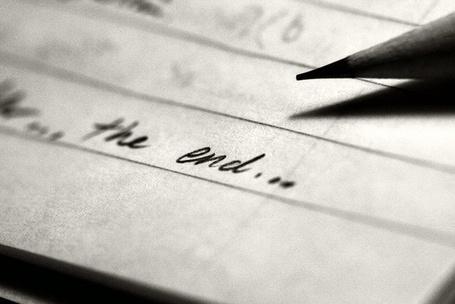 Фото На листе бумаги надпись the end / конец (© Mr. Panda Tao), добавлено: 16.02.2013 13:51