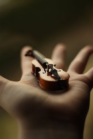 Фото На ладони руки мини виолончель (© ), добавлено: 17.02.2013 10:36