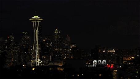 ���� �����-���� / Space Needle � ������ ���� ������ / Seattle, ��������� / Washington (� BRODJaGA), ���������: 26.02.2013 20:31