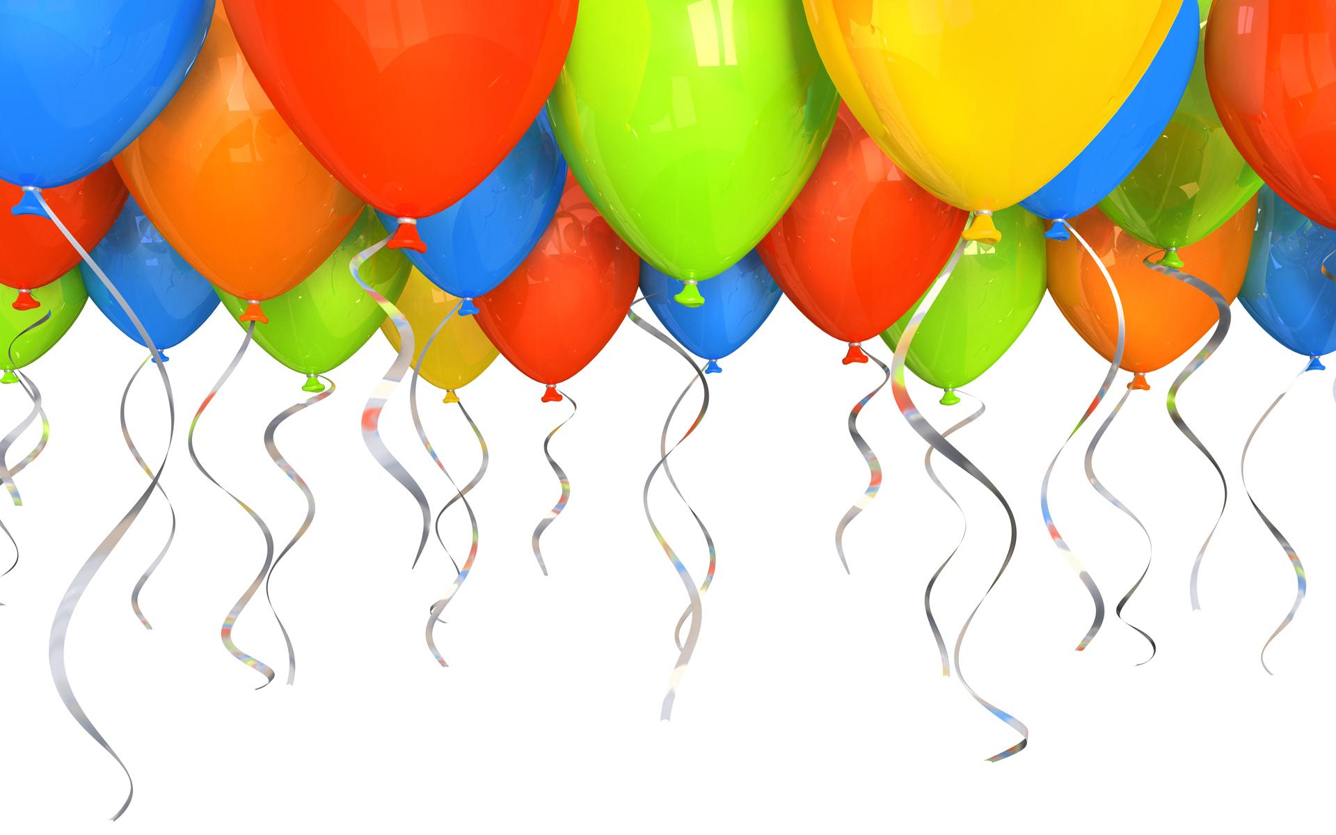 3d графика воздушные шары праздники