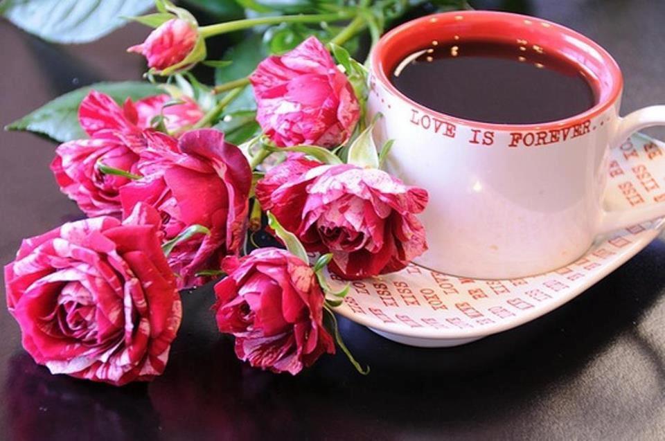 Чернобелый японский кроссворд Чашка кофе