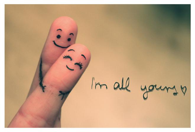 ... смайлы (Im all yours / Я весь твой: photo.99px.ru/photos/93339