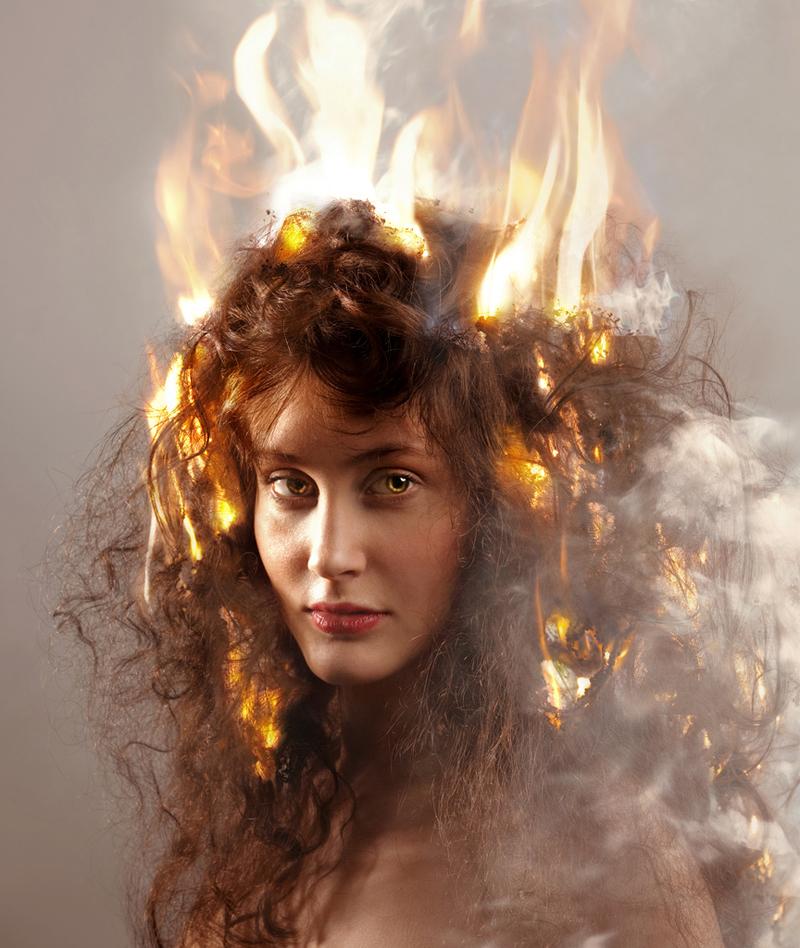 картинки горящих волос цод главное российское