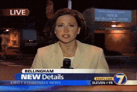 Фото Во время выпуска новостей обнаженный мужчина пробегает за спиной ведущей (Bellngham NEW Details)