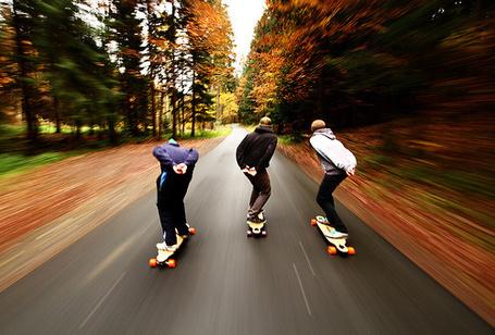 Фото Парни катаются на скейтбордах (© Julia_57), добавлено: 07.03.2013 17:06