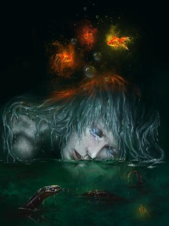 Фото Плачущая русалка