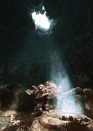 Фото Сказочная пещера