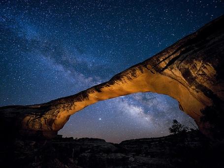 Фото Американский национальный парк Нэчерал-Бриджес