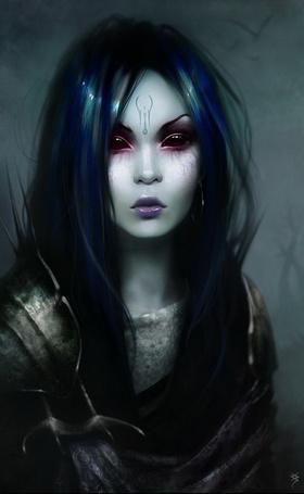 Видеть во сне девушку с черными волосами