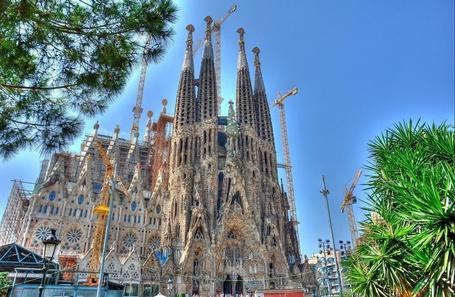 Фото Искупительный храм Святого Семейства, Барселона / Temple Expiatori de la Sagrada Famнlia, Barcelona