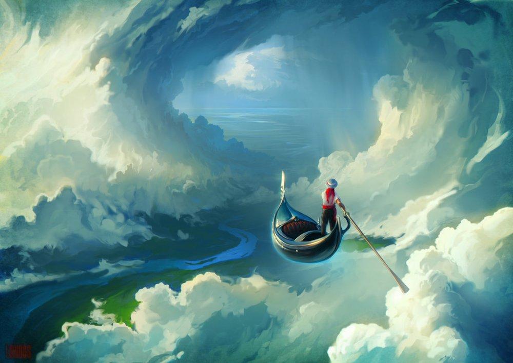 я ловил в небесах