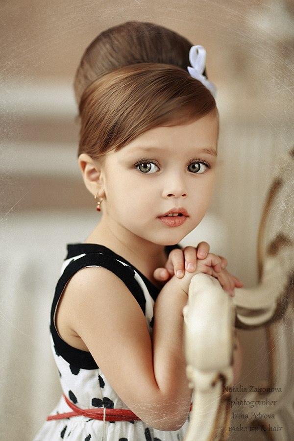 Фото с прическами для маленьких девочек