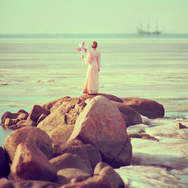 Фото возле моря идеи