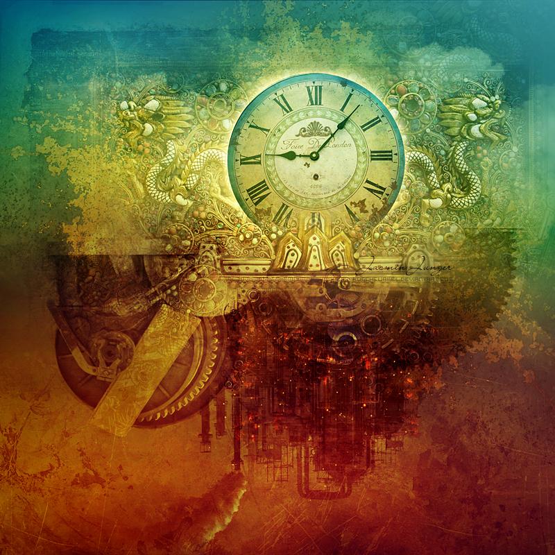 рисунок часы: