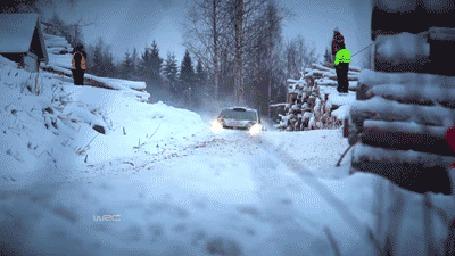 Фото Зимние гонки по бездорожью