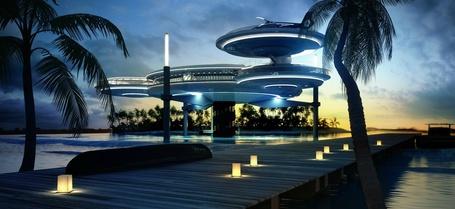 Фото Отель на воде в Дубае / Water Discus Hotel (© Админ), добавлено: 17.05.2013 03:11