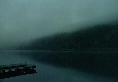 Фото Река с мостиком в тумане (© lemon), добавлено: 25.05.2013 23:31