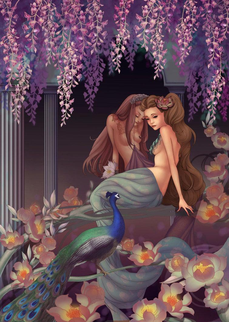 Эротические рисунки русалки 17 фотография