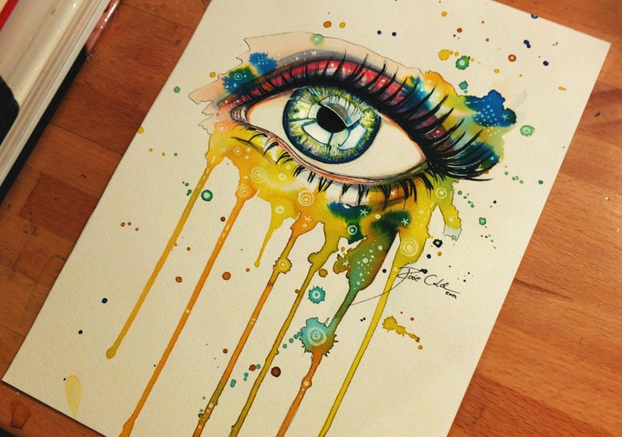 прикольные идеи для рисунков красками шелоб была очень