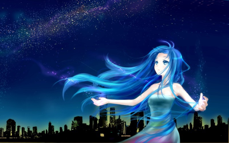 Фото девушка с длинными волосами в