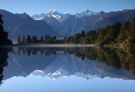 Фото Озеро Мэтисон, Новая Зеландия / Matheson, New Zealand