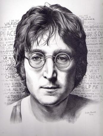 ���� ���� ������ / John Winston Ono Lennon, by KatePowellArt (� bushlat), ���������: 06.06.2013 20:55