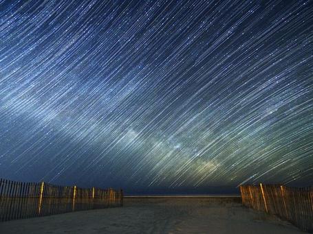Фото Звездные следы, Нью-Джерси, США / New Jersey, USA, фотограф Джек Фуско / Jack Fusco