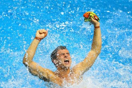 Фото Олимпийский дайвер Tom Daley / Том Дэйли выиграл бронзовую медаль на Лондонской Олимпиаде 2012 года, London / Лондон