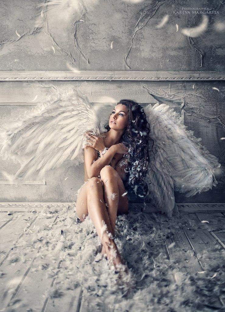 Крылья ангела для девушки
